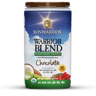 Sunwarrior Blend Chocola 1 KG gezond?