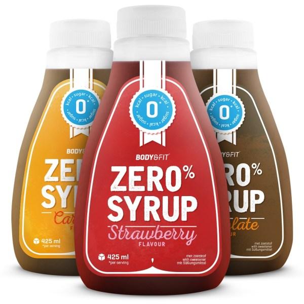 Zero Syrups - 400 ml - Strawberry Syrup gezond?