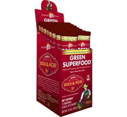 Amazing Grass Berry Goji Acai Green Superfood (15sach)