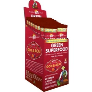 Amazing Grass Berry Goji Acai Green Superfood (15sach)