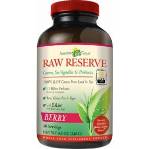 Amazing Grass Raw Reserve Berry Green Superfood (240g) gezond?