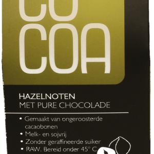 Cocoa Hazelnoten Pure Chocolade RAW gezond?