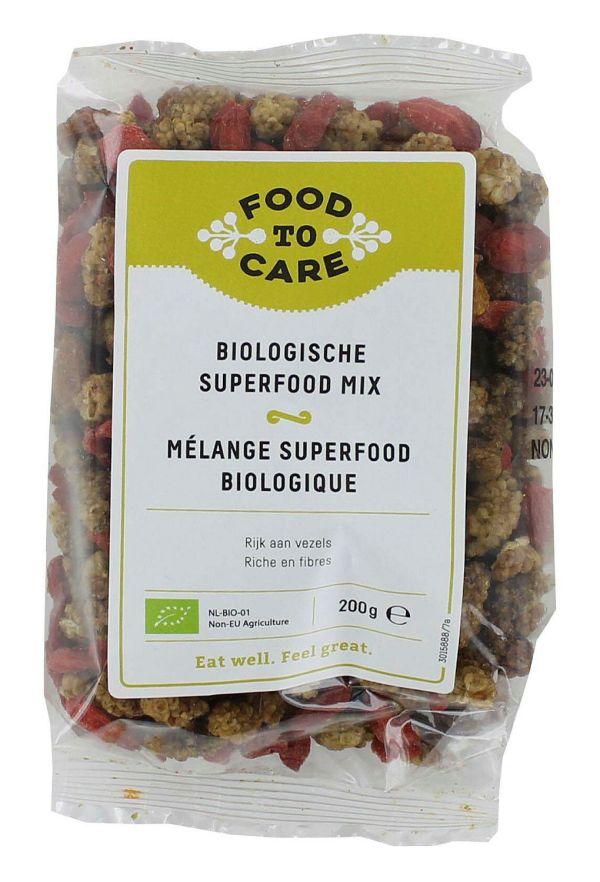 Food To Care Biologische Superfood Mix 200gr gezond?