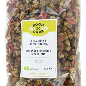 Food To Care Biologische Superfood Mix 650gr gezond?