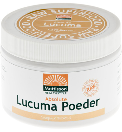 Mattisson Absolute Lucuma Poeder Raw (125g) gezond?
