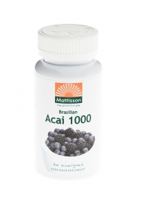 Mattisson HealthStyle Acai 1000 Berry Extract Capsules 60st gezond?