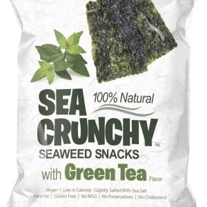 Sea Crunchy Zeewiersnacks Groene Thee