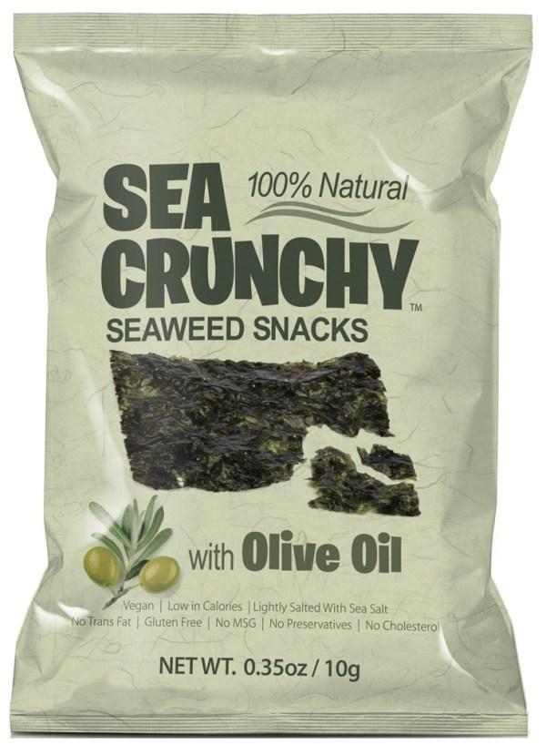Sea Crunchy Zeewiersnacks Olijfolie
