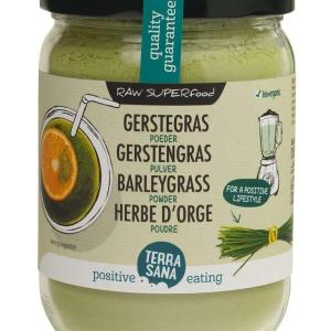 Terrasana Gerstegras poeder in glas gezond?