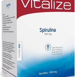Vitalize Spirulina 500mg Tabletten 280st