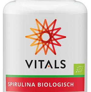 Vitals Spirulina Biologisch Tabletten