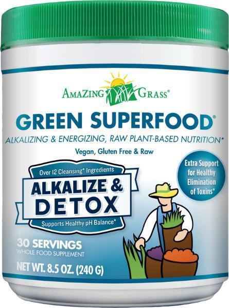 alkalize detox green superfood gezond?