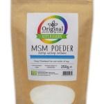 Original Superfoods MSM Poeder 250 Gram