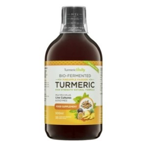 Turmeric Vitality Bio-Fermented Turmeric Pineapple Passion 500 ML