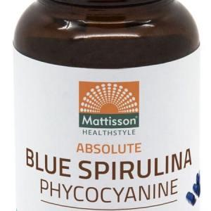 Mattisson HealthStyle Absolute Blue Spirulina Capsules