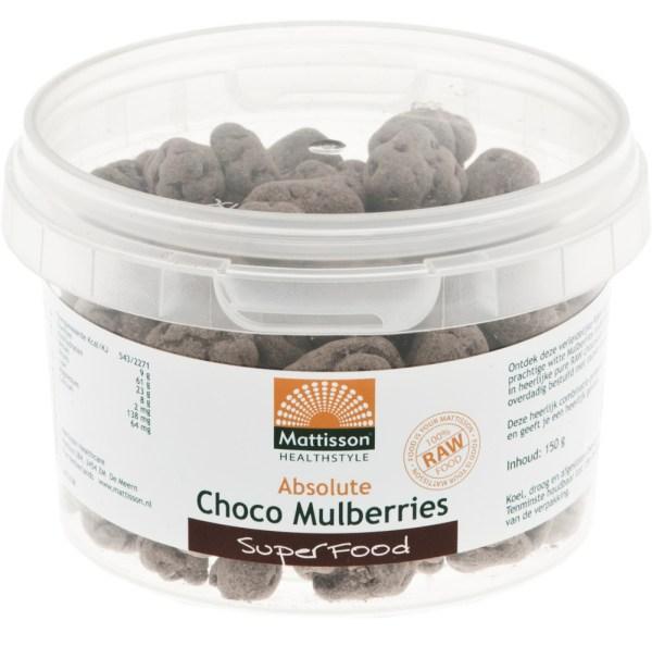 Mattisson HealthStyle Absolute Choco Mulberries