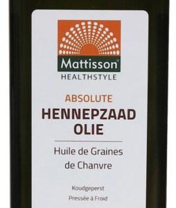 Mattisson HealthStyle Absolute Hennepzaad Olie