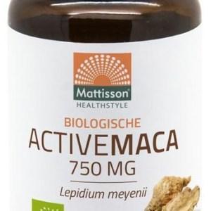 Mattisson HealthStyle Biologische Maca 750mg Capsules