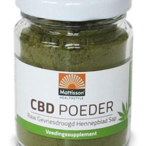 Mattisson HealthStyle CBD Poeder