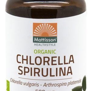Mattisson HealthStyle Organic Chlorella Spirulina Tabletten