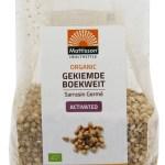 Mattisson HealthStyle Organic Gekiemde Boekweit