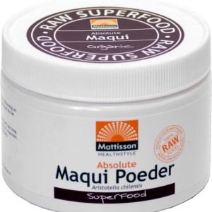 Mattisson HealthStyle Absolute Maqui Poeder