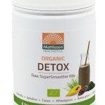 Mattisson HealthStyle Organic Detox SuperSmoothie Mix