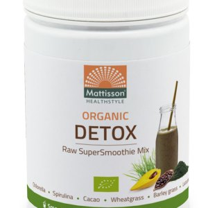 Mattisson HealthStyle Organic Detox SuperSmoothie Mix