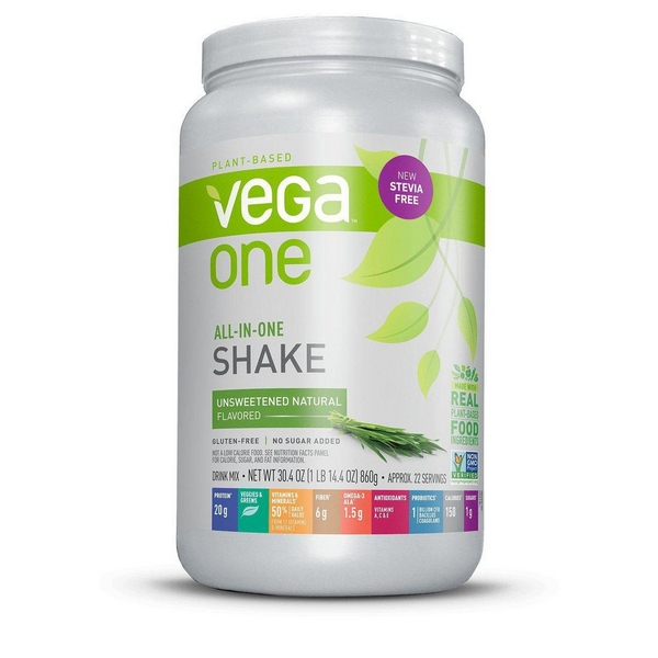 Vega One Nutritional Shake Natural Unsweetened 860 Gram gezond?