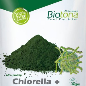 Biotona Chlorella + Spirulina Powder Raw