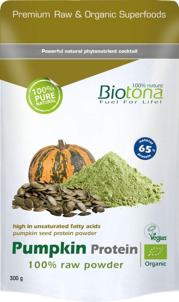 Biotona Pumpking Protein Powder Raw gezond?