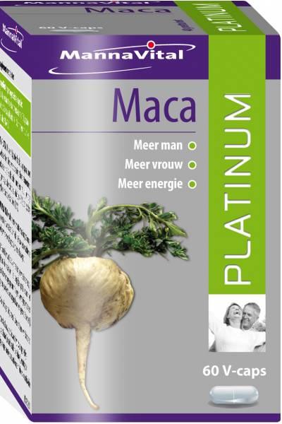 MannaVital Maca Platinum Capsules gezond?