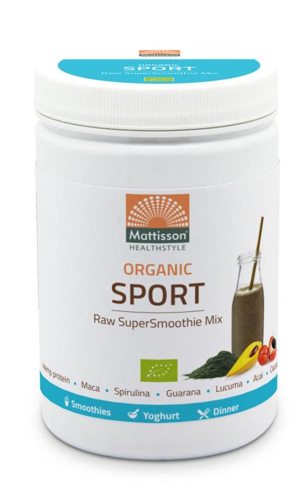 Mattisson HealthStyle Organic Sport SuperSmoothie Mix