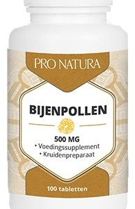 Pro Natura Bijenpollen 500mg Tabletten gezond?