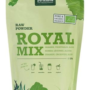 Purasana Royal Mix Raw Powder