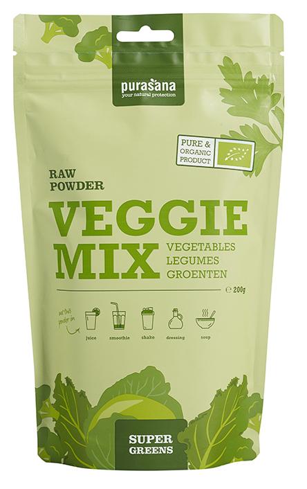 Purasana Veggie Mix Raw Powder