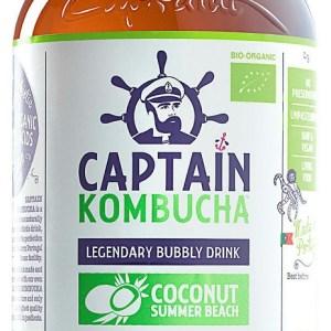 The GUTsy Captain Kombucha Coconut Summer Beach