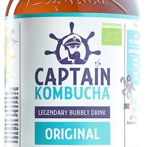 The GUTsy Captain Kombucha Original