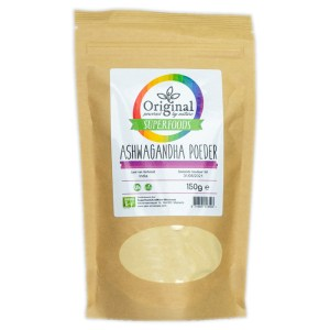 Original Superfoods Ashwagandha Poeder 150 Gram