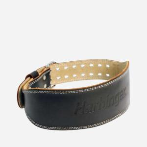 4 Inch Padded Leather Belt - Medium
