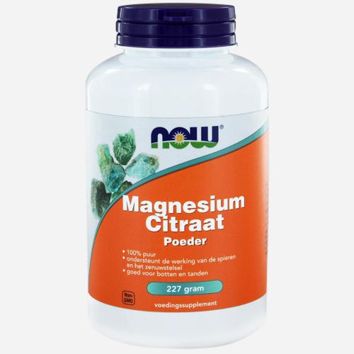 Magnesium Citraat NOW