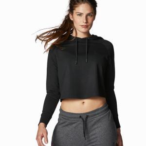 Women's Cropped Hoody Black