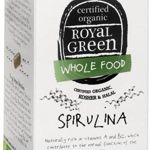 Royal Green Spirulina Tabletten gezond?
