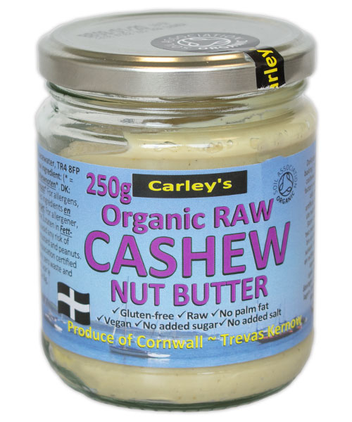 Carley's Biologische Cashew Butter 250 Gram