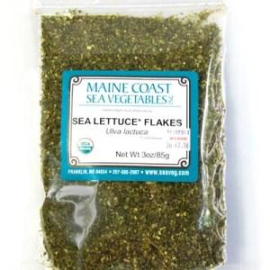 Maine Coast Sea Vegetables Sea Lettuce Flakes 85 Gram