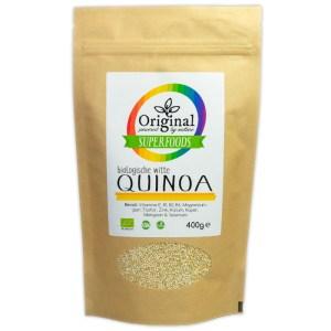 Original Superfoods Biologische Quinoa Wit 400 Gram
