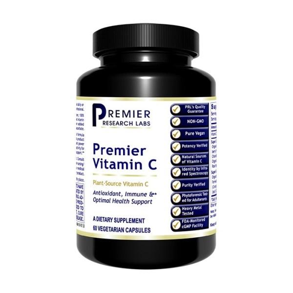 PRL Premier Vitamin C 60 V-Caps