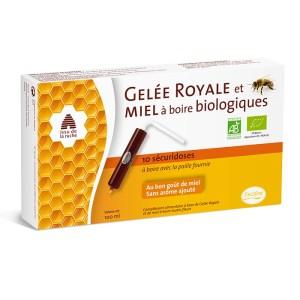 PiLeJe Biologische Drinkbare Koninginnegelei & Honing 10 X Monodoses Van 10 ML