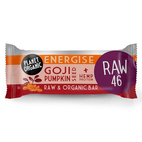 Planet Organic Biologische Goji Pumpkinseed Energise Bar 30 Gram