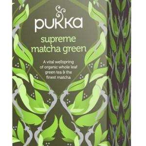 Pukka Biologische Supreme Green Matcha Thee 20 Zakjes